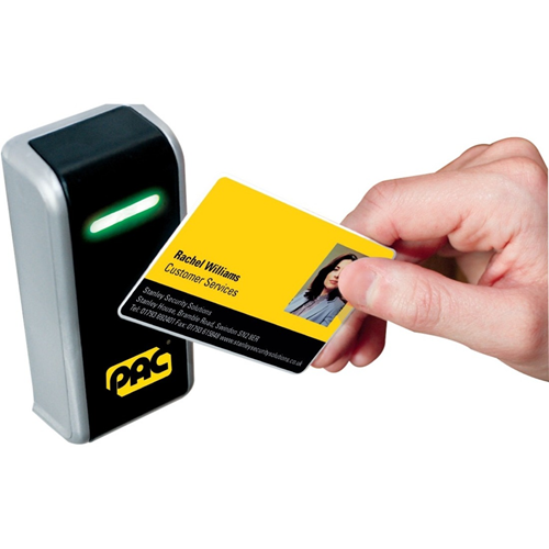 Stanley Oneprox GS3 Card Reader Access Device - Door - Proximity, Magnetic Strip - 50 mm Operating Range - Wiegand - 12 V DC