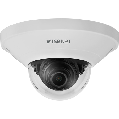 Wisenet QND-8011 5 Megapixel Network Camera - Dome - MJPEG, H.264, H.265 - 2592 x 1944 - CMOS - Wall Mount