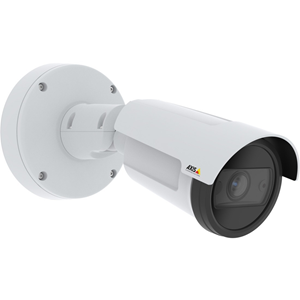 AXIS P1455-LE 2 Megapixel Network Camera - Bullet - 40 m Night Vision - H.264 (MPEG-4 Part 10/AVC), H.265 (MPEG-H Part 2/HEVC), MJPEG - 1920 x 1080 - 3x Optical - RGB CMOS - Junction Box Mount, Pole Mount, Corner Mount, Conduit Mount