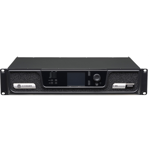 Crown CDi DriveCore 2 300 Amplifier - 600 W RMS - 2 Channel - 0.4% THD - 20 Hz to 20 kHz - 300 W - Ethernet