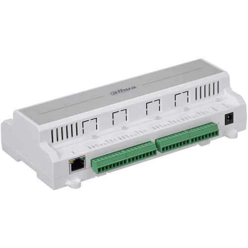 Dahua DHI-ASC1204B-S Door Access Control Panel - Proximity, Fingerprint, Key Code - 150000 User(s) - 4 Door(s) - Fast Ethernet - Network (RJ-45) - Serial - Wiegand - 15 V DC