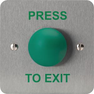 3E 3E0657-1PTE Push Button - Zinc Alloy, Stainless Steel