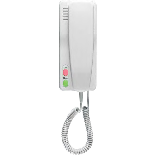 Bell Systems XL5-PS Intercom Master Station - for Door Entry - White - Wall Mount, Desktop