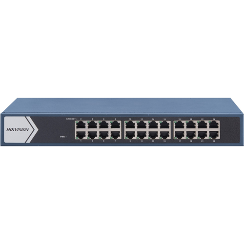 Hikvision DS-3E1524-EI 24 Ports Manageable Ethernet Switch - 2 Layer Supported - Twisted Pair - 3 Year Limited Warranty