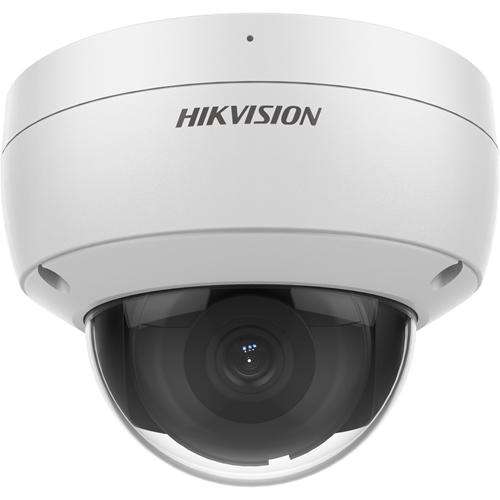 Hikvision EasyIP DS-2CD2186G2-ISU 8 Megapixel Network Camera - Dome - 30 m Night Vision - H.265+, H.264+, H.265, H.264, MJPEG - 3840 x 2160 - CMOS - Vertical Mount, Pole Mount, Junction Box Mount, Corner Mount, Wall Mount, Pendant Mount