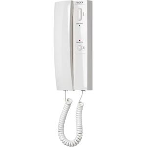 VIDEX 3176 Intercom Sub Station - for Door Entry - White - Cable - Desktop