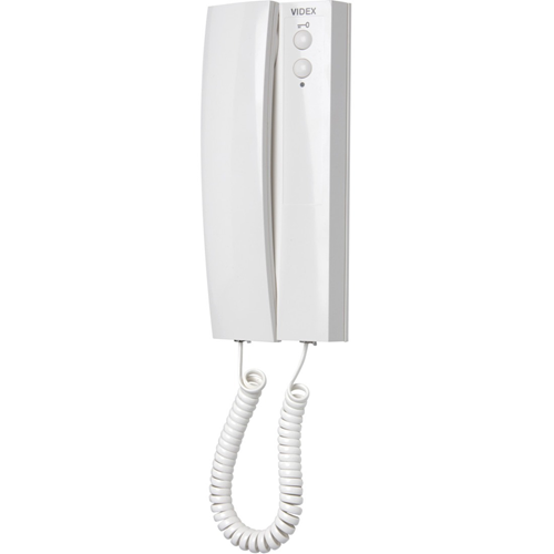 VIDEX 3171 Intercom Sub Station - for Door Entry - White - Cable - Desktop