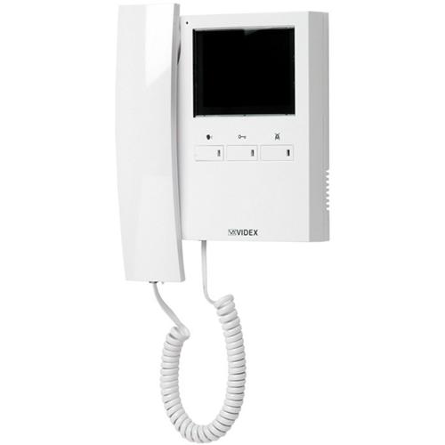"""VIDEX 8.9 cm (3.5"""") Video Master Station - TFT LCD - Full-duplex - ABS Plastic - Door Entry"""