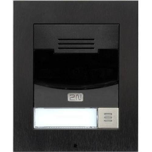 2N IP Solo Intercom Sub Station - Black - Wireless
