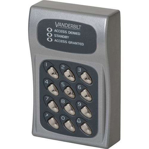 ACT ACT5-EM Keypad Access Device - Outdoor, Indoor - Proximity - 128 User(s) - 1 Door(s) - 24 V DC - Surface Mount, Flush Mount