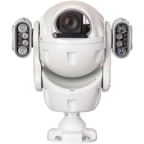 REDVISION X2 COMBAT RVX2-IR-B 3 Megapixel Network Camera - Ball - 300 m Night Vision - H.265, H.264, MJPEG - 2048 x 1536 - 30x Optical - CMOS - Bracket Mount