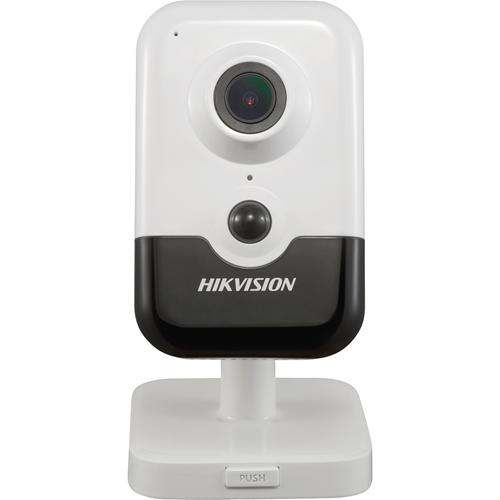 Hikvision EasyIP DS-2CD2443G0-I(W) 4 Megapixel Network Camera - Cube - 10 m Night Vision - H.265, H.264, MJPEG, H.264+, H.265+ - 2688 x 1520 - CMOS