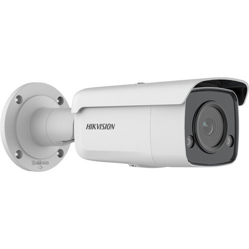 Hikvision DS-2CD2T47G2-L 4 Megapixel Network Camera - Bullet - 60 m Night Vision - H.265+, H.265, H.264, H.264+, MJPEG - 2688 x 1520 - CMOS - Junction Box Mount, Vertical Mount, Pole Mount