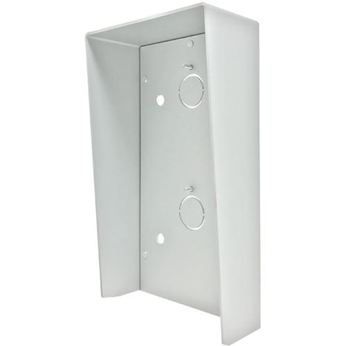 Comelit Weather Protection Hood for Entrance Panel - Villa, Door Entry - Rain Resistant - Anodized Aluminium - Grey