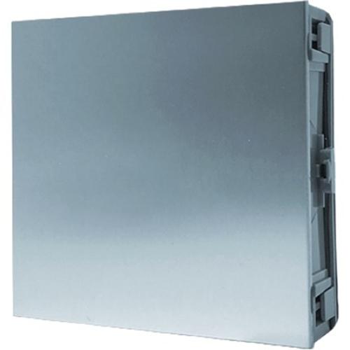 Comelit Ultra Door Station Blank Module for Entrance Panel - Villa, Residential - Metal, Polycarbonate, Aluminium Alloy, Anodized Aluminium - Aluminum Silver