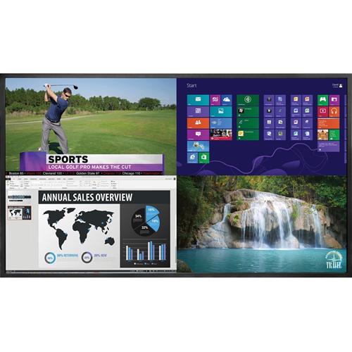 "Planar EP6524K 165.1 cm (65"") LCD Digital Signage Display - 3840 x 2160 - Direct LED - 500 cd/m² - 2160p - USB - HDMI - Serial - Ethernet"