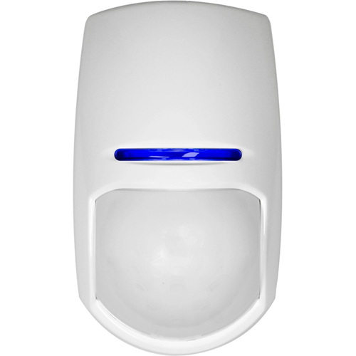 Pyronix KX15DC-WE Motion Sensor - Wireless - Passive Infrared Sensor (PIR) - 15 m Motion Sensing Distance - 20° Viewing Angle - Ceiling-mountable, Wall-mountable - Art Gallery, Museum - ABS Plastic
