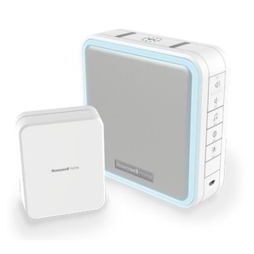 Honeywell DC915SCV Doorbell - Wired/Wireless - 200 m - White, Grey