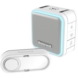 Honeywell DC515N Doorbell - Wireless - 150 m - White