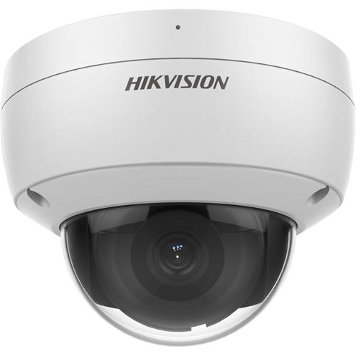 Hikvision EasyIP DS-2CD2126G2-ISU 2 Megapixel Network Camera - Dome - 30 m Night Vision - H.265+, H.265, H.264+, H.264, MJPEG - 1920 x 1080 - CMOS - Junction Box Mount, Pendant Mount, Wall Mount, Corner Mount, Pole Mount, Vertical Mount