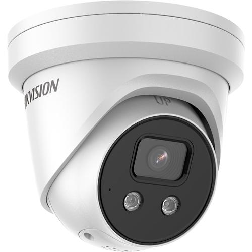 Hikvision EasyIP DS-2CD2386G2-ISU/SL 8 Megapixel Network Camera - Turret - 30 m Night Vision - H.265, H.264, MJPEG, H.264+, H.265+ - 3840 x 2160 - CMOS - Wall Mount, Pendant Mount, Pole Mount, Corner Mount, Junction Box Mount