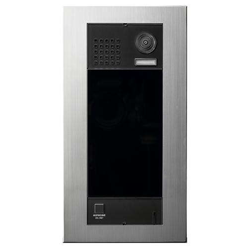 "Aiphone IXG-DM7 17.8 cm (7"") Video Door Phone - Touchscreen LCD - 1.2 Megapixel - CMOS - 15° Vertical - 5 lux - Full-duplex - Door Entry, Building, Apartment"