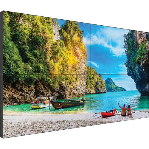 "Planar VM55LX-U2 139.7 cm (55"") LCD Digital Signage Display - 1920 x 1080 - Direct LED - 500 cd/m² - 1080p - USB - HDMI - Serial - Ethernet"
