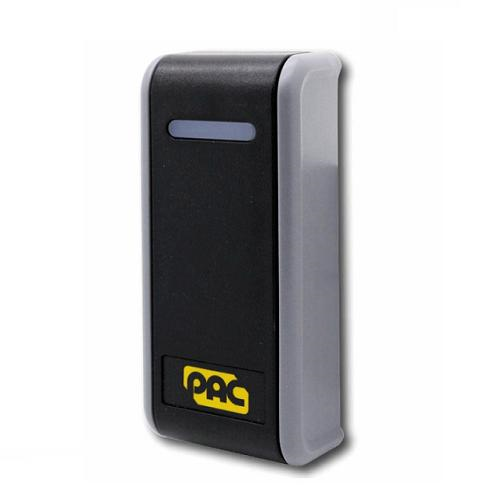 PAC Oneprox GS3 Card Reader Access Device - Black - Door, Indoor, Outdoor - Proximity - 100 mm Operating Range - Wiegand - 24 V DC - Mullion Mount