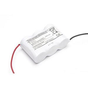 Yuasa Emergency Lighting Battery - 4000 mAh - D - Nickel Cadmium (NiCd) - 3.6 V DC - Battery Rechargeable
