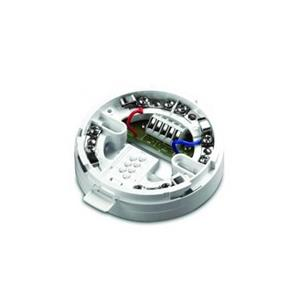 Apollo Smoke Detector Base - For Smoke Detector - Polycarbonate, Nickel Plated Stainless Steel - White