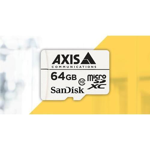 Axis Companion 5801-941STORAGE MISC MicroSD 64GB