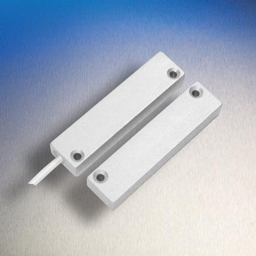 Elmdene HD Cable Magnetic Contact - 25 mm Gap - For Door - Surface Mount - Silver