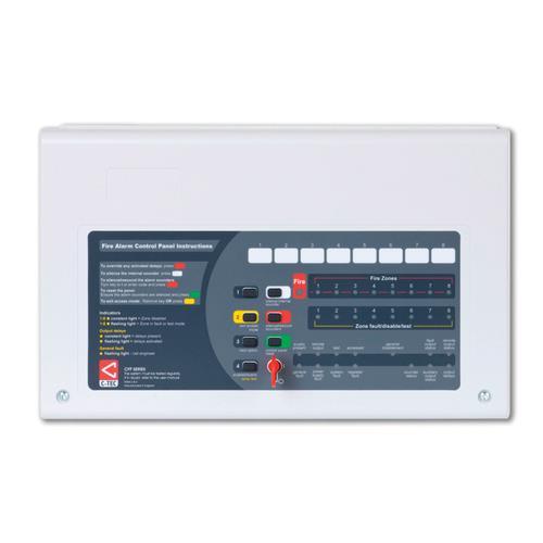 C-TEC AlarmSense Fire Alarm Control Panel - 4 Zone(s)