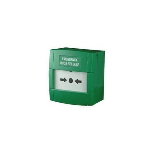 CDVI Manual Call Point For Commercial, Industrial, Residential, Public Building - Green