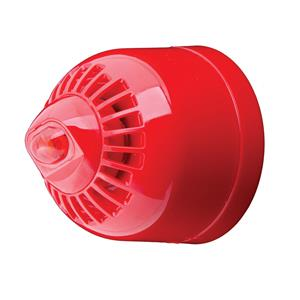 Klaxon ESF-5004BEACON CONV/L HORN WALL Rd Body/Rd