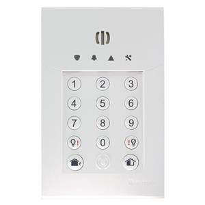 KEYPAD W/LESS PROX Light <(>&<)> Siren STD