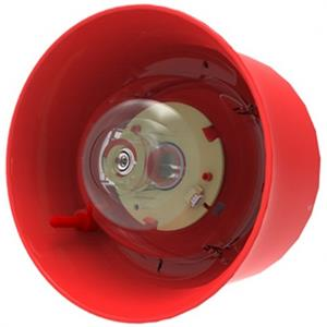 Hochiki CHQ-WSB2 Security Alarm - 41 V DC - 102 dB(A) - Audible, Visual - Red, Red