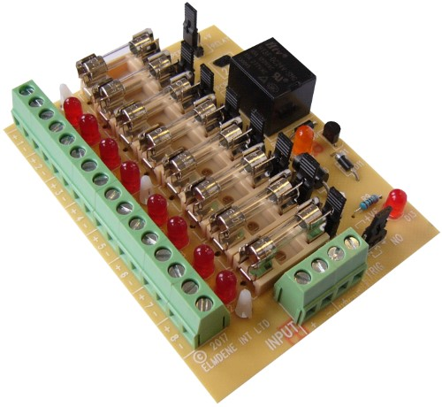 SPECIAL ACCESS POWER 12v 8Way Fire Relay