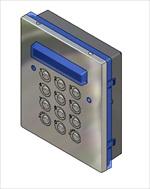 Videx 4800//AACCESS KEYPAD 4800 CL MOD-3 CODES-3RELA