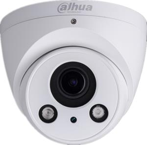 Dahua Lite IPC-HDW2431R-ZS 4 Megapixel Network Camera - Monochrome, Colour - 49.99 m Night Vision - H.264+, H.264, H.265+, H.265 - 2688 x 1520 - 2.70 mm - 13.50 mm - 5x Optical - CMOS - Cable - Dome - Junction Box Mount, Wall Mount, Pole Mount
