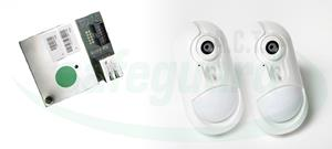Visonic PowerG PG2 IP CAM KITCAMERA PIR W/LESS x 2 with IP Module