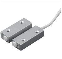 CQR SC555 Cable Magnetic Contact - SPST (N.O.) - 20 mm Gap - For Door - Surface Mount - Aluminium