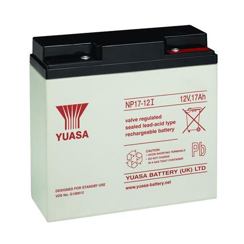 Yuasa NP17-12 Multipurpose Battery - 17000 mAh - Lead Acid - 12 V DC - Battery Rechargeable