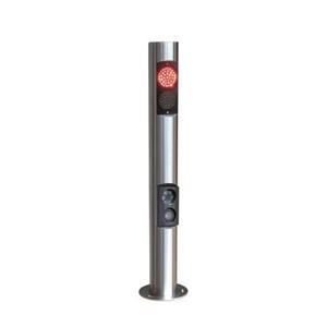 Nortech SSPD-ANPRREADER ACCY ANPR Post With Trafic Signls