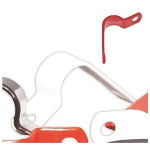 NoBurn Cable Retention Clip - White - 50 Pack - Cable Clip - Plastic