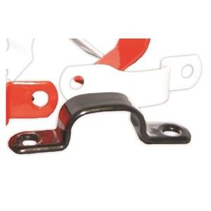 NoBurn Cable Retention Clip - White - 50 Pack - Cable Saddle - Plastic