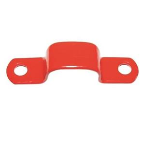 NoBurn Cable Retention Clip - Red - 50 Pack - Cable Saddle - Plastic