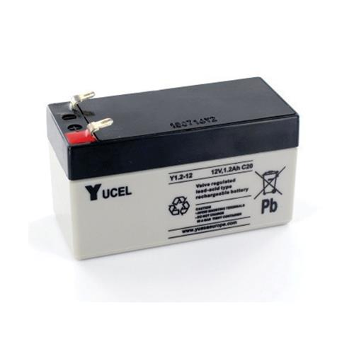 Yuasa Yucel Emergency Lighting Battery - 12000 mAh - Lead Acid - 12 V DC - Battery Rechargeable